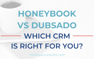HoneyBook vs Dubsado: Which CRM is right for you?