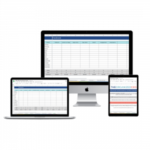 Monthly Metrics Tracker Template Spreadsheet